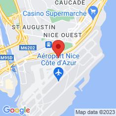 Carte / Plan Aéroport de Nice-Côte d'Azur