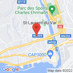 Carte / Plan Saint-Laurent-du-Var