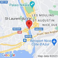 Carte / Plan Viaduc du Var