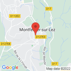 Carte / Plan Montferrier-sur-Lez