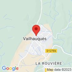 Carte / Plan Vailhauquès