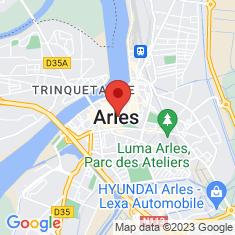 Carte / Plan Ancienne cathédrale Saint-Trophime d'Arles