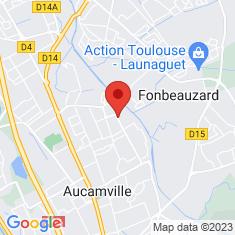 Carte / Plan Fonbeauzard