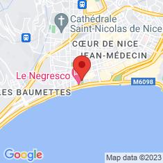 Carte / Plan Musée Masséna
