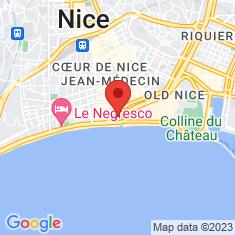 Carte / Plan Théâtre de verdure de Nice