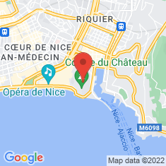 Carte / Plan Cathédrale Sainte-Marie de Cimiez