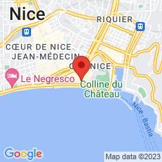 Carte / Plan Chapelle de la Miséricorde de Nice