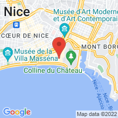 Carte / Plan Église de l'Annonciation de Nice