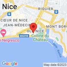 Carte / Plan Église de l'Annonciation de Nice