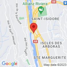 Carte / Plan Pont de Saint-Isidore