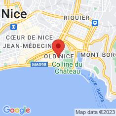 Carte / Plan Église Saint-Jacques-le-Majeur de Nice