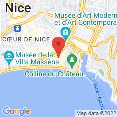Carte / Plan Cathédrale Sainte-Réparate de Nice