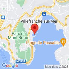Carte / Plan Darse de Villefranche-sur-Mer