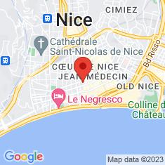 Carte / Plan Temple réformé de Nice