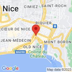 Carte / Plan Muséum d'histoire naturelle de Nice