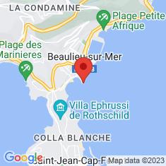 Carte / Plan Villa Kérylos