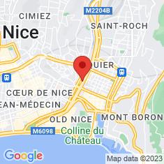 Carte / Plan Acropolis (Nice)