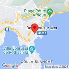 Carte / Plan Beaulieu-sur-Mer