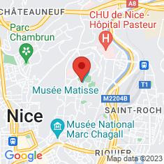 Carte / Plan Musée Matisse de Nice