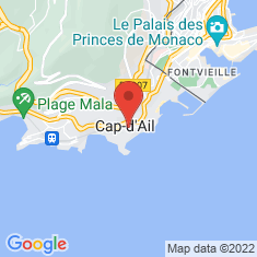 Carte / Plan Cap-d'Ail