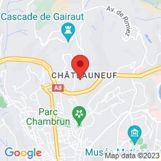 Carte / Plan Villa de Châteauneuf