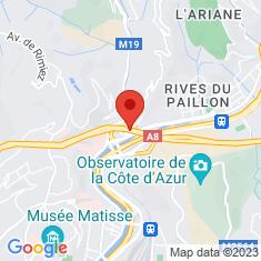 Carte / Plan Viaduc du Paillon