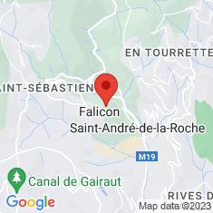 Carte / Plan Falicon