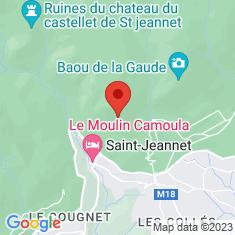 Carte / Plan Baou de Saint-Jeannet
