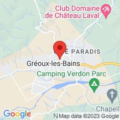 Carte / Plan Gréoux-les-Bains