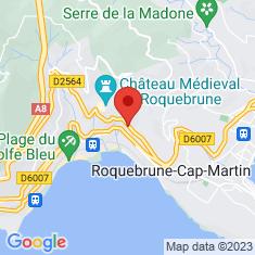 Carte / Plan Roquebrune-Cap-Martin