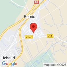 Carte / Plan Bernis (Gard)