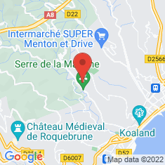 Carte / Plan Serre de la Madone