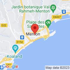 Carte / Plan Cimetière russe de Menton