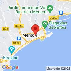 Carte / Plan Menton (Alpes-Maritimes)