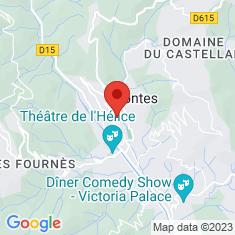 Carte / Plan Contes (Alpes-Maritimes)