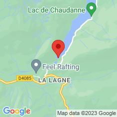 Carte / Plan Barrage de Chaudanne