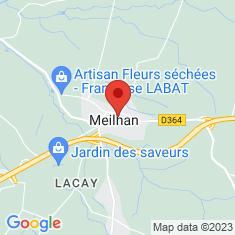 Carte / Plan Meilhan (Landes)
