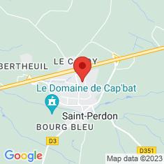 Carte / Plan Saint-Perdon