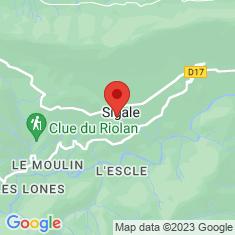 Carte / Plan Fontaine de Sigale