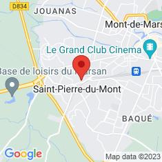 Carte / Plan Saint-Pierre-du-Mont (Landes)