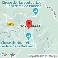 Carte / Plan Cirque de Navacelles