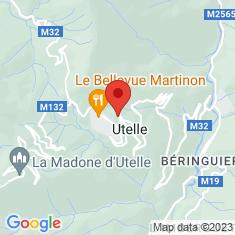 Carte / Plan Utelle