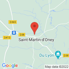 Carte / Plan Saint-Martin-d'Oney