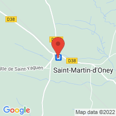 Carte / Plan Gare de Saint-Martin-d'Oney