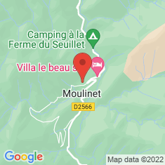 Carte / Plan Moulinet (Alpes-Maritimes)