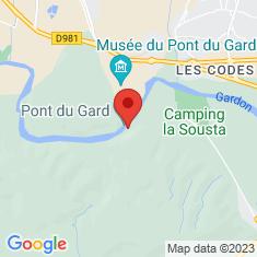 Carte / Plan Pont du Gard
