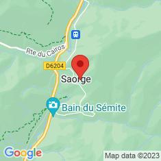Carte / Plan Saorge