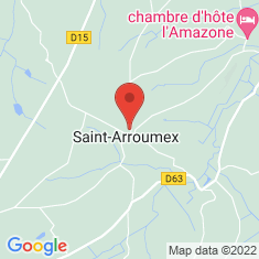 Carte / Plan Saint-Arroumex