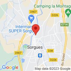 Carte / Plan Palais des papes de Sorgues
