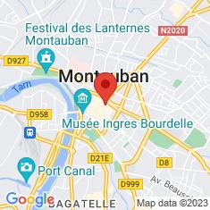 Carte / Plan Montauban